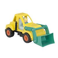 Экскаватор с фигуркой водителя, игрушка серии Первые машинки, Battat