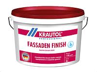 Акриловая краска с хорошей адгезийной способностью Кrautol Fassaden Finish(Краутол Фасаден Финиш) 5 л