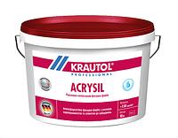 Силиконо-модифицированная краска, экстра класса, усилинная силоксаном Кrautol Аcrysil В1, В3 (Краутол Акрисил) 2.35л (В3)