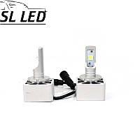 Комплект автомобильных ламп в головной свет, SLP G8L, Цоколь D1S, D3S  36W, 6000 Люмен в линзу