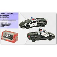 """Машина металл """"KINSMART"""" KT5317WP """"Lamborghini Murcielago LP640"""""""