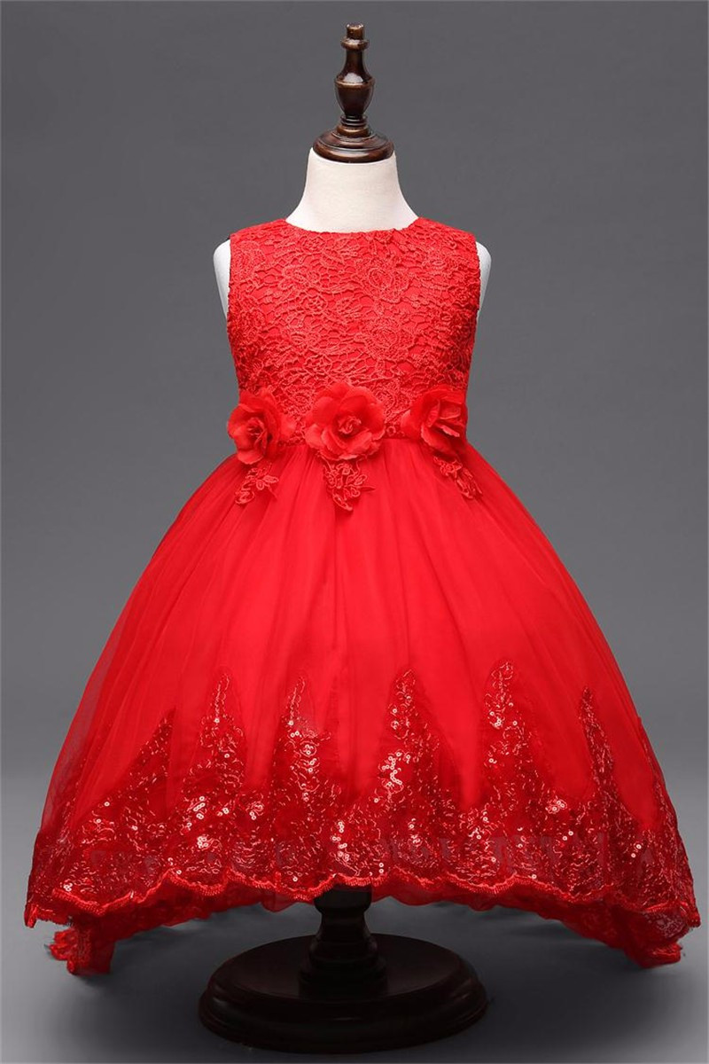 Платье бальное детское.