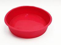 """Силиконовая форма для пирога """"Бисквит гладкий"""" 24,5 см 5 см"""