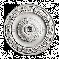 Розетка из гипса р-186 Ø500