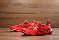 Кроссовки Adidas Ultra Boost красные топ реплика