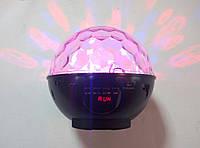 Диско шар с ЖК дисплеем+радио+AUX+USB+SD+часы