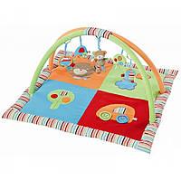 Развивающий коврик «Baby Fehn» (91274) с дугами 3-D Мишка, 85x85 см