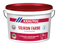 Силиконовая фасадная краска Krautol SilikonFarbe B1, B3 4,7л (В3)