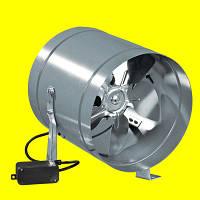 Вентилятор низкого давления для круглых каналов Домовент ВКОМц 150