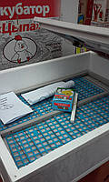 Инкубатор для яиц ципа-харьков, механический переворот, электромеханический регулятор, закладка 100 яиц