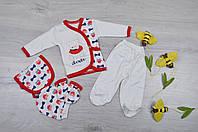 """Набор для новорожденных """"Мишка"""". 0-3 месяца. Продается в подарочной коробке. Оптом."""