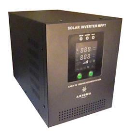 Автономный солнечный инвертор Axioma Energy 800 ВА (500 Вт), 220 В с MPPT контроллером 20 А, AXEN.IS800