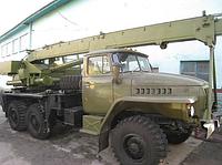 Ремонт автомобильного крана КС-2573