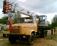 Ремонт автомобильного крана КС-4574