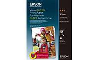 Глянцевая фотобумага epson a4 value glossy photo paper 50 листов (c13s400036)