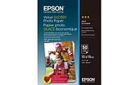 Глянцевая фотобумага epson 10*15 см value glossy photo paper 50 листов (c13s400038)