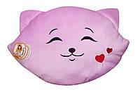 Подушка Котик-смайл закоханий