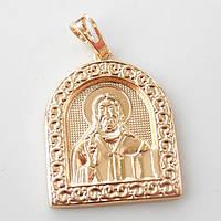 Ладанка  Xuping Иисус Христос 2 золото 18К