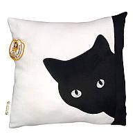Подушка Чорний кіт