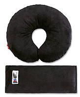 Комплект дорожный для сна Eternal Shield цвет черный (4601234567862)