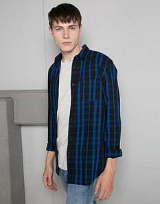 Мужская рубашка Bershka - Plaid Shirt (чоловіча сорочка)