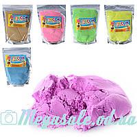 Кинетический песок Magic Sand 0469, 6 цветов: 500 грамм
