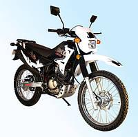 Мотоцикл Qingqi Liger 200 Белый (Sb0006)