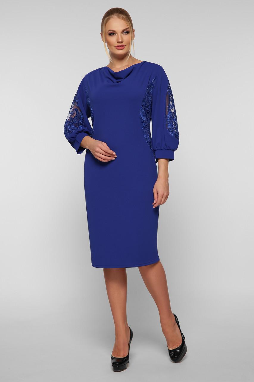 Коктейльное платье Сандра электрик Vlavi