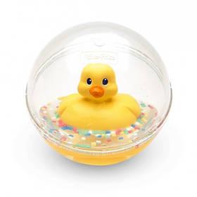 Игрушка для ванной Fisher Price Утенок в шаре желтый DVH21