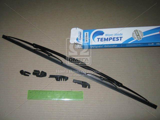 Щетка стеклоочистителя каркасная 510мм. (с адаптерами)  Tempest