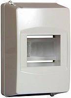 Корпус пластиковый 4-модульный e.plbox.stand.04, без дверки, фото 1