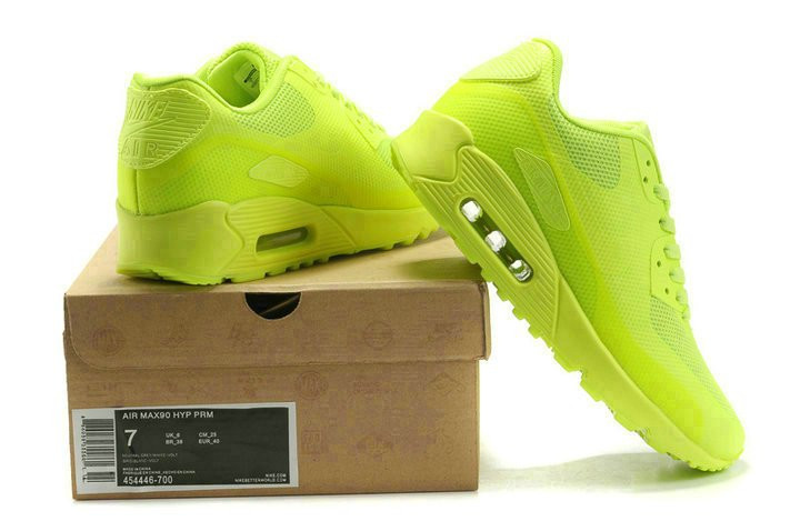 a3c4494e ... Nike Air Max 90 Hyperfuse Ultragreen | кроссовки женские; салатовые,  фото 4