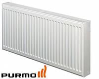 Стальные радиаторы отопления Purmo Тип 22 высота 300 мм (нижнее подключение)
