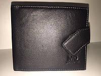 Добротный мужской кошелек из натуральной кожи M D