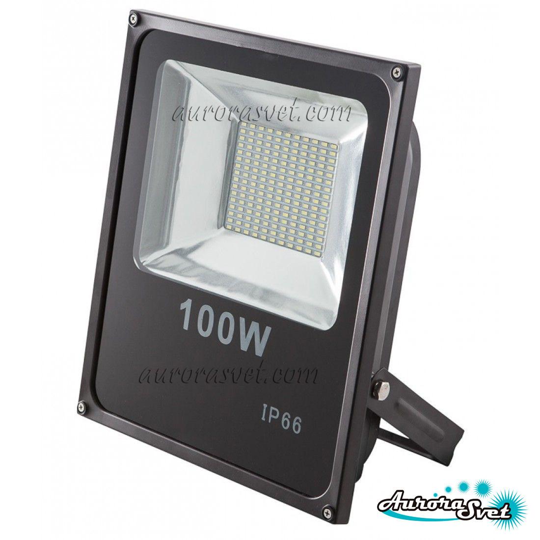 Прожектор светодиодный 100вт SMD Aurorasvet. Led прожектор. Светодиодный прожектор.