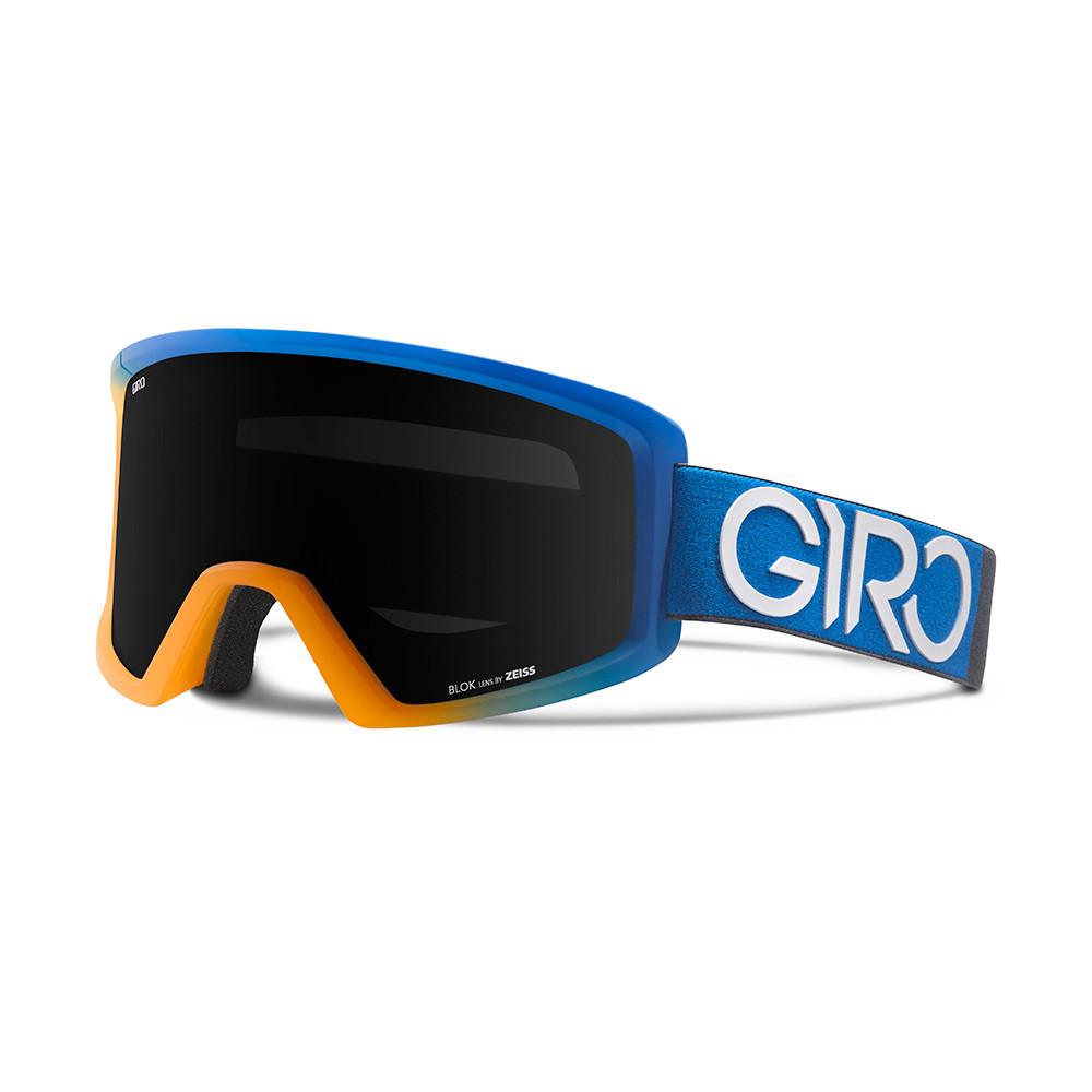 Горнолыжная маска Giro Blok Flash Flame/синяя Dual, Zeiss, black Limo 15% (GT)