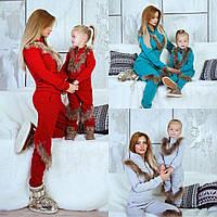 Family look костюм мама и дочка, фото 1