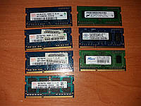 RAM ОЗУ Память DDR3 1GB для ноутбука So-Dimm