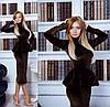 Платье бархат баска  сьемная, фото 4