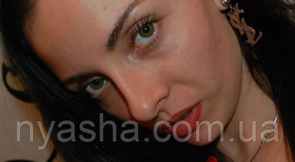 Часть глаза другого цвета