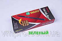 Ручки гелевые AIHAO AH-8620,Zentel,зеленые,0.5mm,12 шт/упаковка