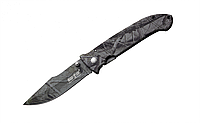 Складной нож красивой темно-синей расцветки , фото 1