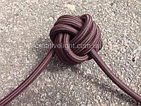 Коричневый провод в текстильной оплетке (2х0,75)