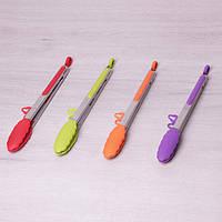 Щипцы силиконовые 30.5см с ручками из нержавеющей стали