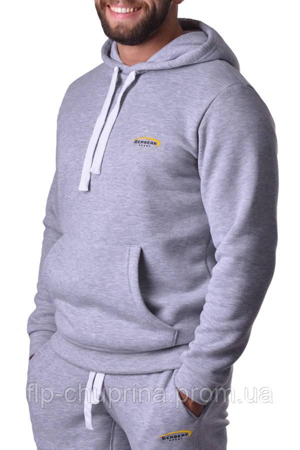 Толстовка PREMIUM grey (с начесом)
