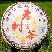 Чай Шу Пуэр Лао Шу Ча «Старое Дерево» 2011 Год, От 10 Грамм , фото 1