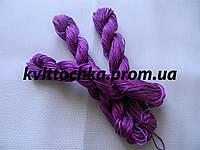 Шнур капроновый для плетения шамбалы - фиолетовый