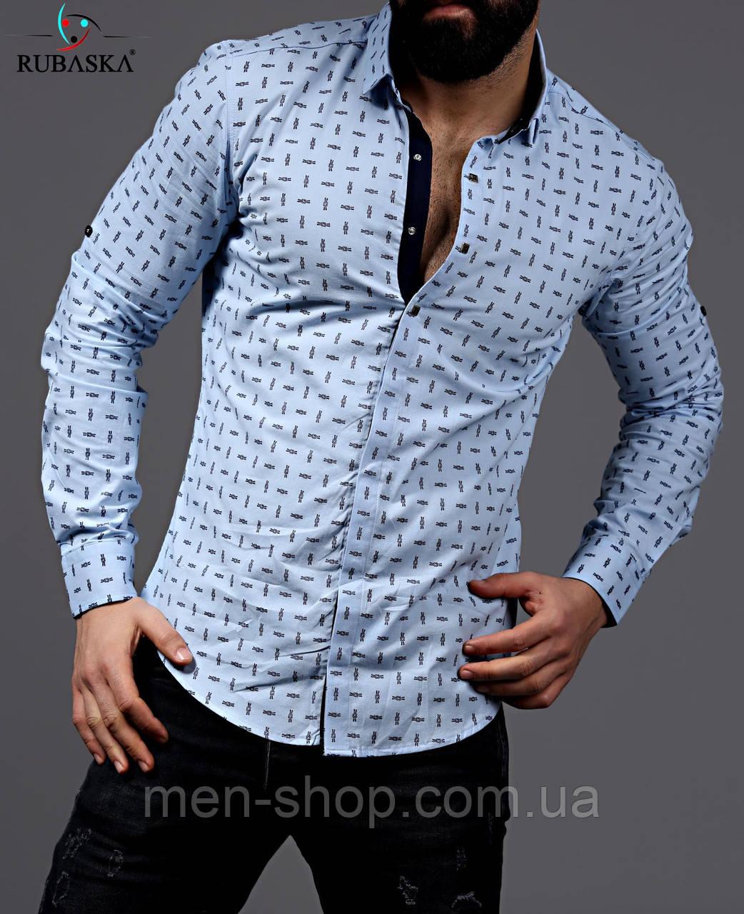 3d737f98a57 Рубашка мужская белого цвета - Men-Shop в Харькове