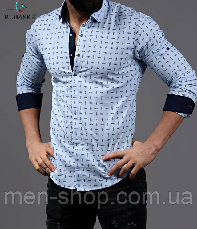 805a0af28ea Рубашка мужская белого цвета