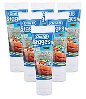 Oral-B - Disney Cars автомобилей Детская зубная паста 2-6 лет фруктовый всплеск 75 мл  (США)